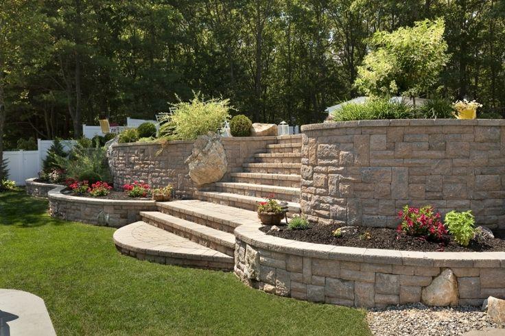96 best Steps for backyard hill images on Pinterest ...