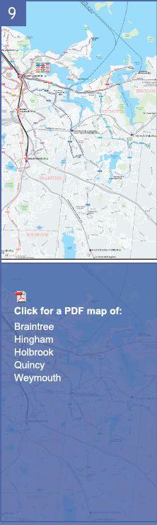 Handy Commuter Rail Map