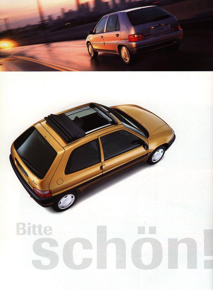 https://flic.kr/p/ovKCDb | Citroen Saxo; 1999, 2000, 2002_2 | car brochure by worldtravellib World Travel library