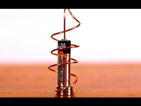 How to make simple homopolar motor 'race cars' | The Kid Should See This