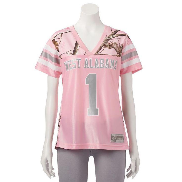 Women's Realtree University of West Alabama Game Day Jersey, Size: Medium, Pink