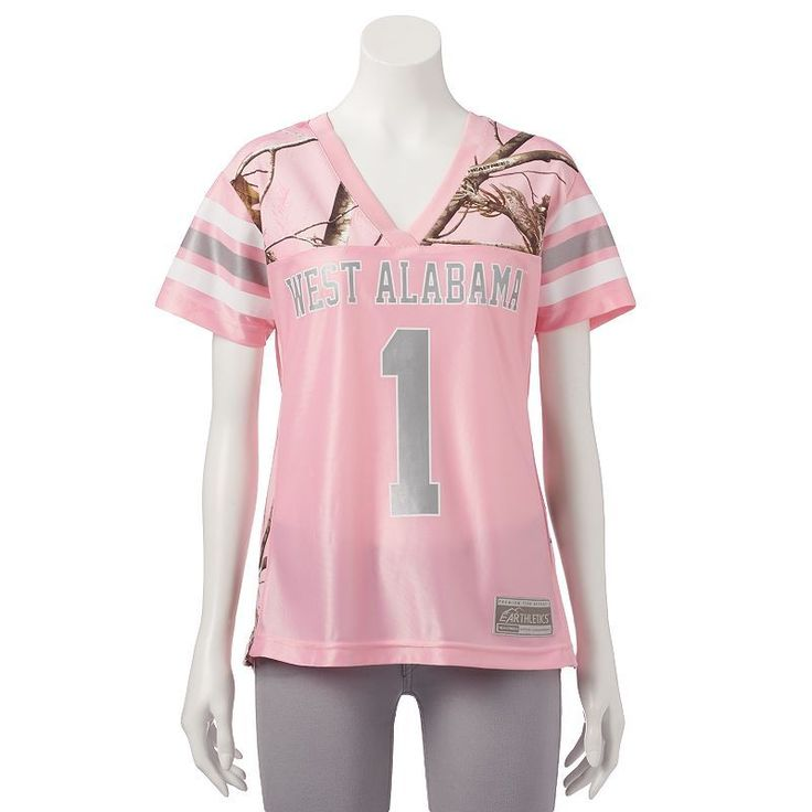 Women's Realtree University of West Alabama Game Day Jersey, Size: Medium, Pink