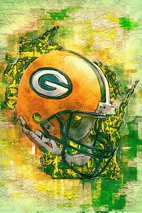 Green Bay Packers Painting - Green Bay Packers by Jack Zulli