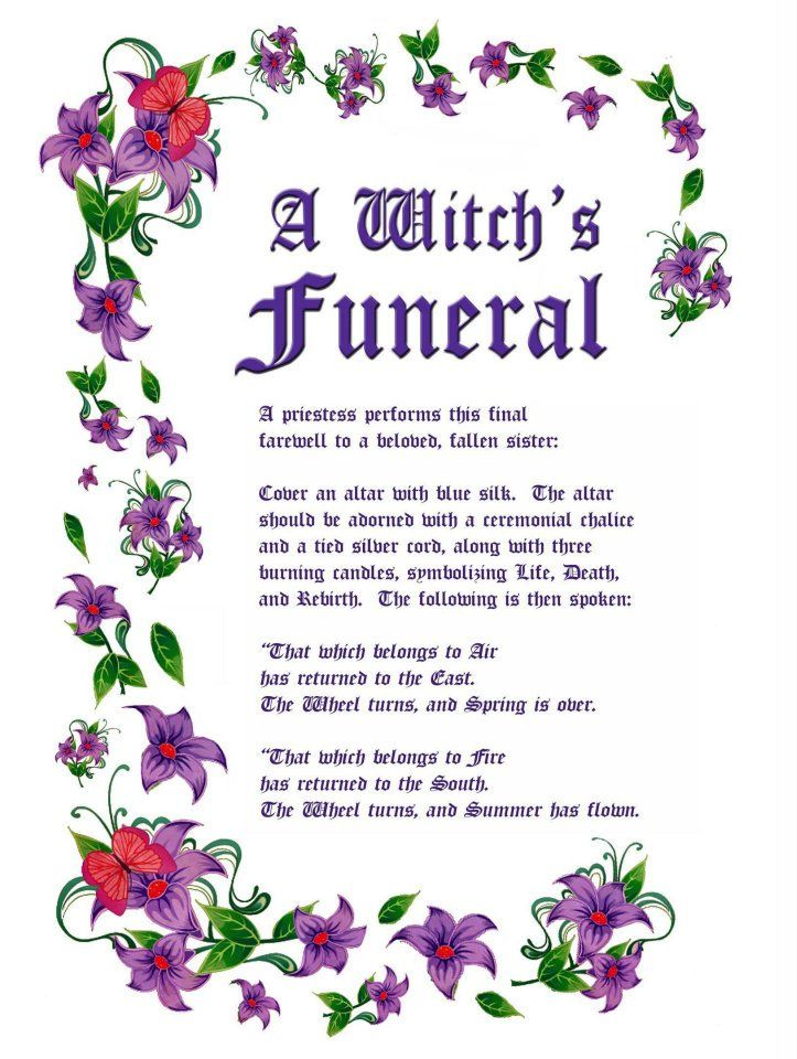 Pinterest: @MagicAndCats ☾ Charmed Series Book of Shadows: Witches Funeral » Metaphysic Study