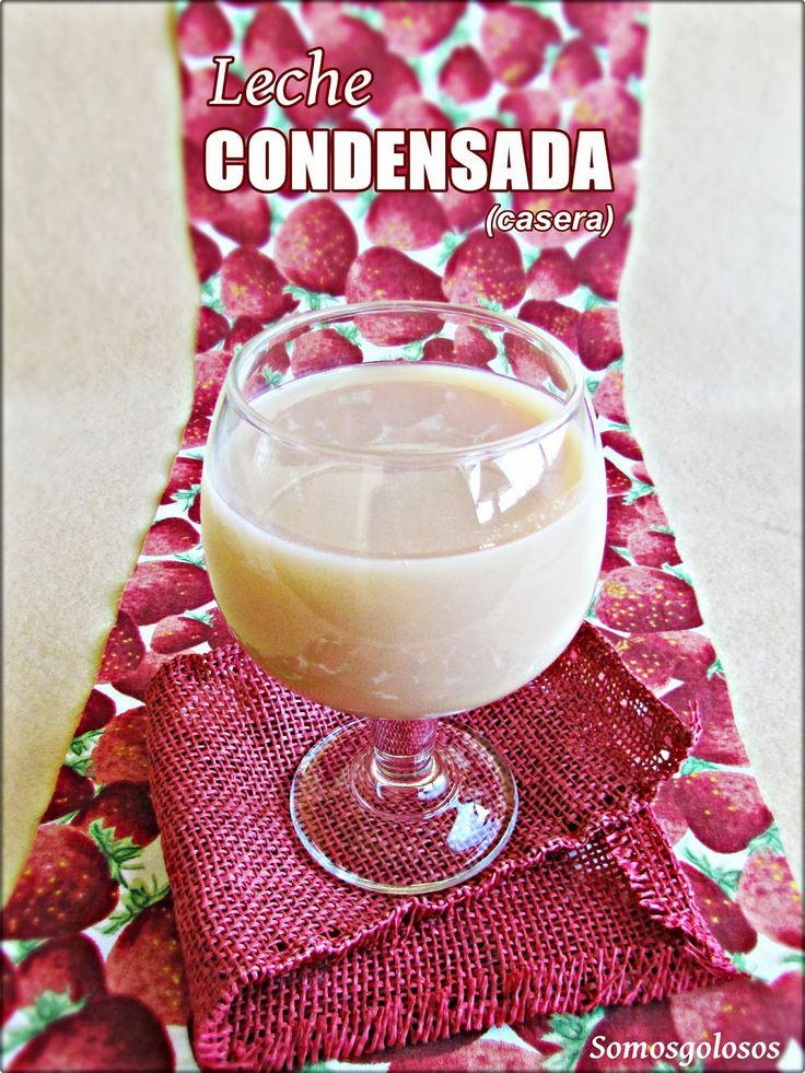LECHE CONDENSADA CASERA. Sin gluten, Sin lactosa