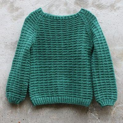 Tusindfryds Waffelsweater Str. 2-10 År