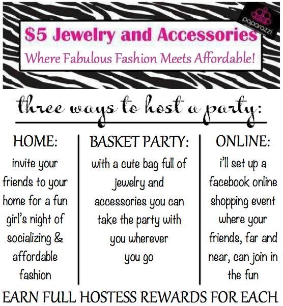 Contact me to host a $5 Paparazzi Accessories boutique party today! Paparazzi with Ashley Harry<3 https://paparazziaccessories.com/45810 **Facebook Page: https://www.facebook.com/Paparazzi-With-Ashley-1111932988840592/