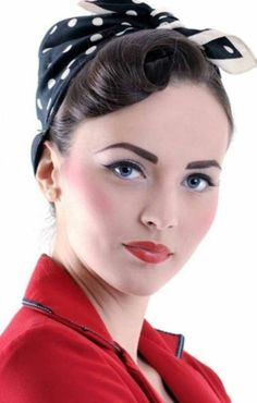 Rockabilly Frisuren Frauen Braunes Kurzes Haar Stars Fifties