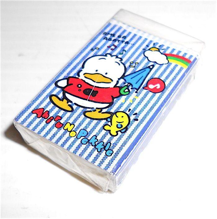 AHIRU NO PEKKLE 1991 Sanrio Japan eraser rubber radiergummi gomma gommina