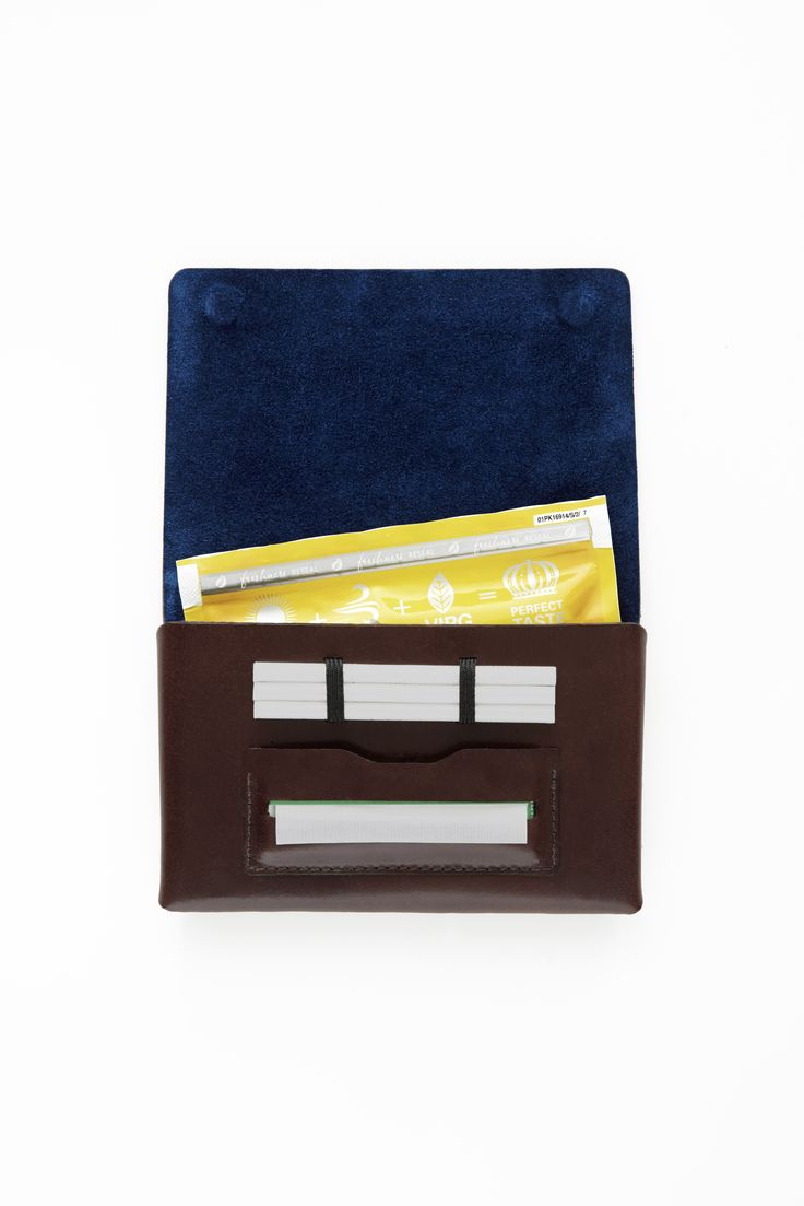 Holds up to 50 gram pouches. Customised leather and suede: 4 leather & 10 suede colours to choose from: www.rollelondon.com