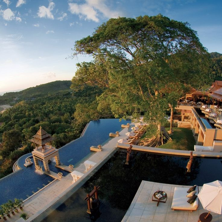 The luxury Pimalai Resort and Spa, Koh Lanta, Thailand