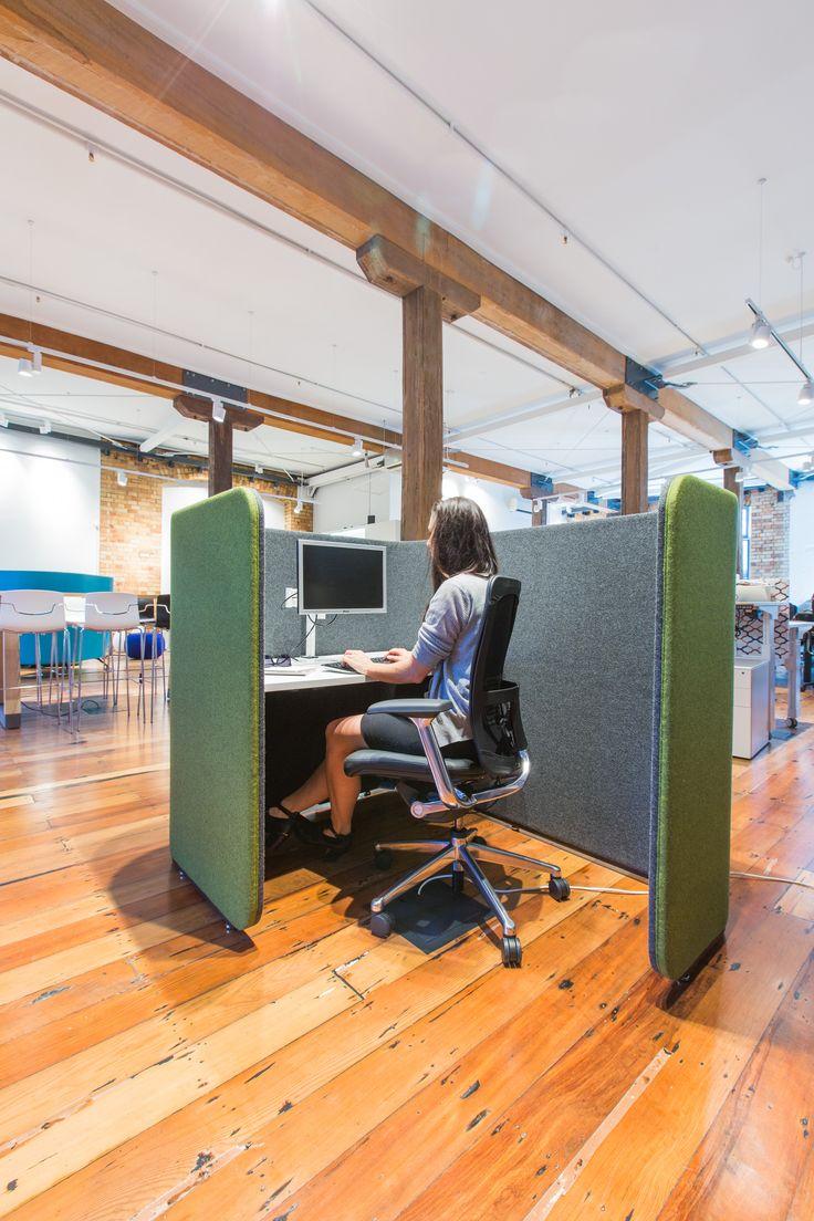 WorkTools - IQ Commercial Return Focus Pod on Camira Blazer at Design Day Pro 2015
