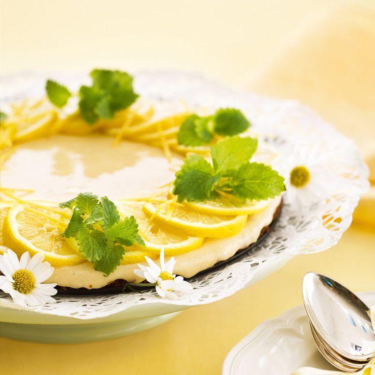 Citronkaka med kondenserad mjölk
