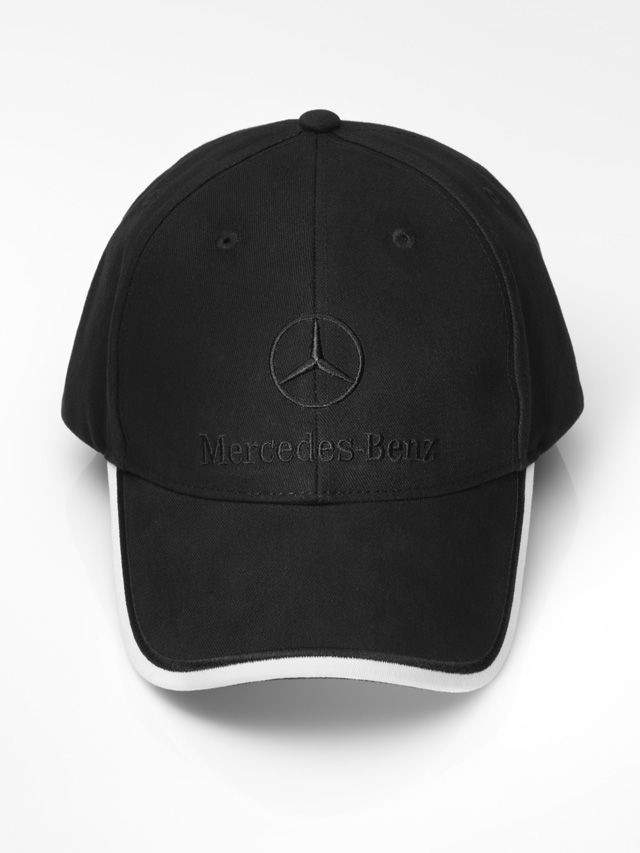 Cap black B66952242 Colour:Β Β Β  black  Material information:Β Β Β  cotton  Baseball cap, various colours. 100% cotton. White detail on peak. Metal clasp for adjusting fit.  Logo embroidered on front. Star logo embossed on metal clasp.