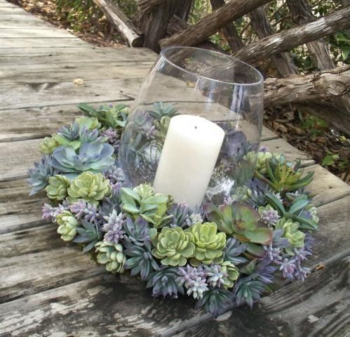 roses and succulent centerpieces - Google Search