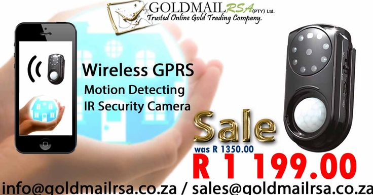 Wireless GPRS Infrared Motion Detecting Security Camera