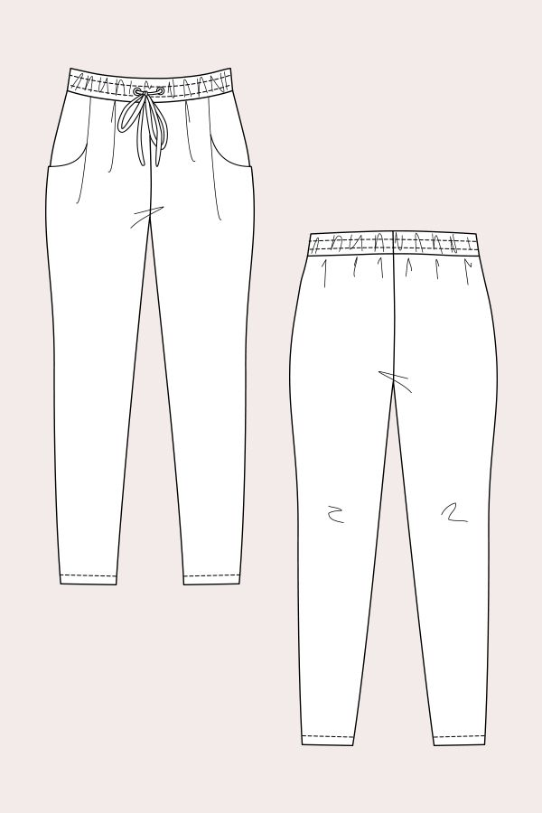 Names Alexandria Peg Trousers Casual trousers - try if the marigold trousers don't work
