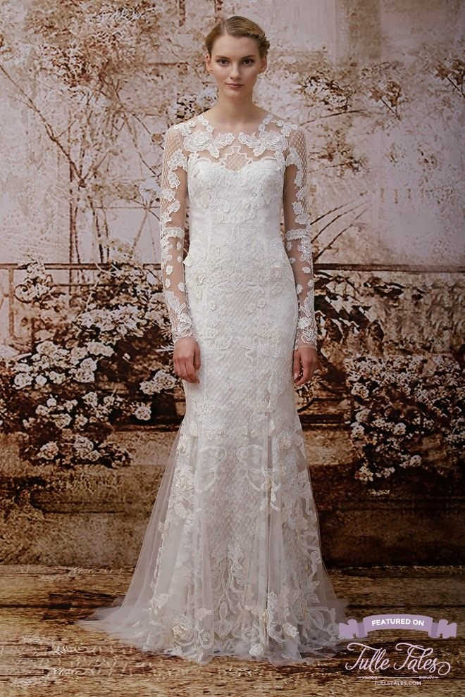 Monique Lhuillier 2014 Fall Bridal Collection – Tulle Tales