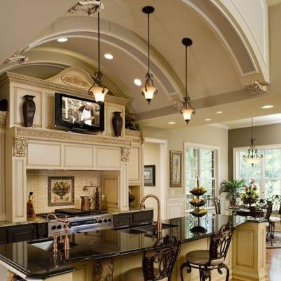 Love big kitchens