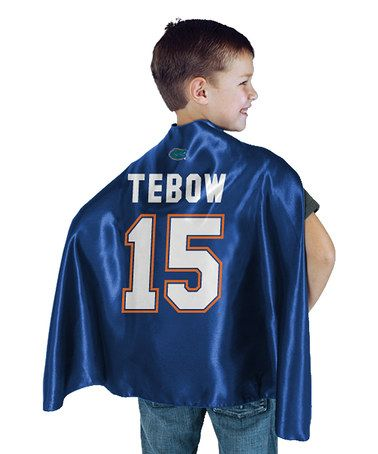For all my gator fans...Royal Blue Florida 'Tebow' Cape