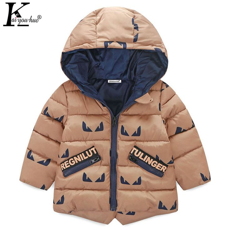 Nice 2017 Winter Coats Girls Jacket Children Baby Boys Coat Outerwear Cotton Boys Down Jackets For Girls Clothes Hooded Kids Clothing - $39.75 - Buy it Now!