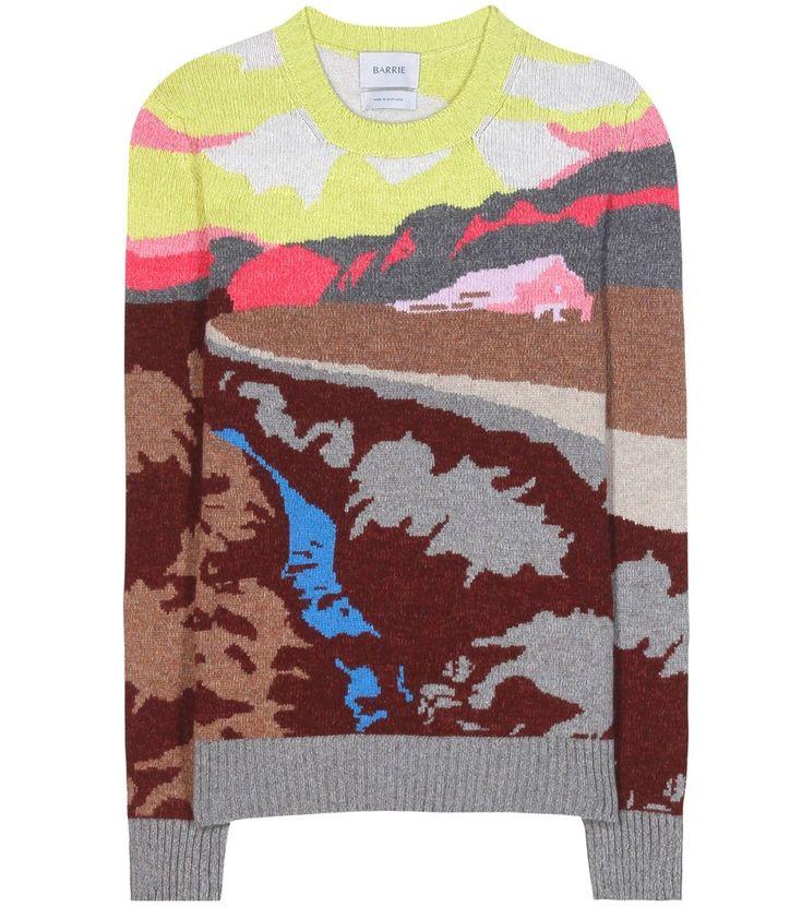 Barrie - Pullover in cashmere - È con filati multicolor di morbidissimo cashmere…