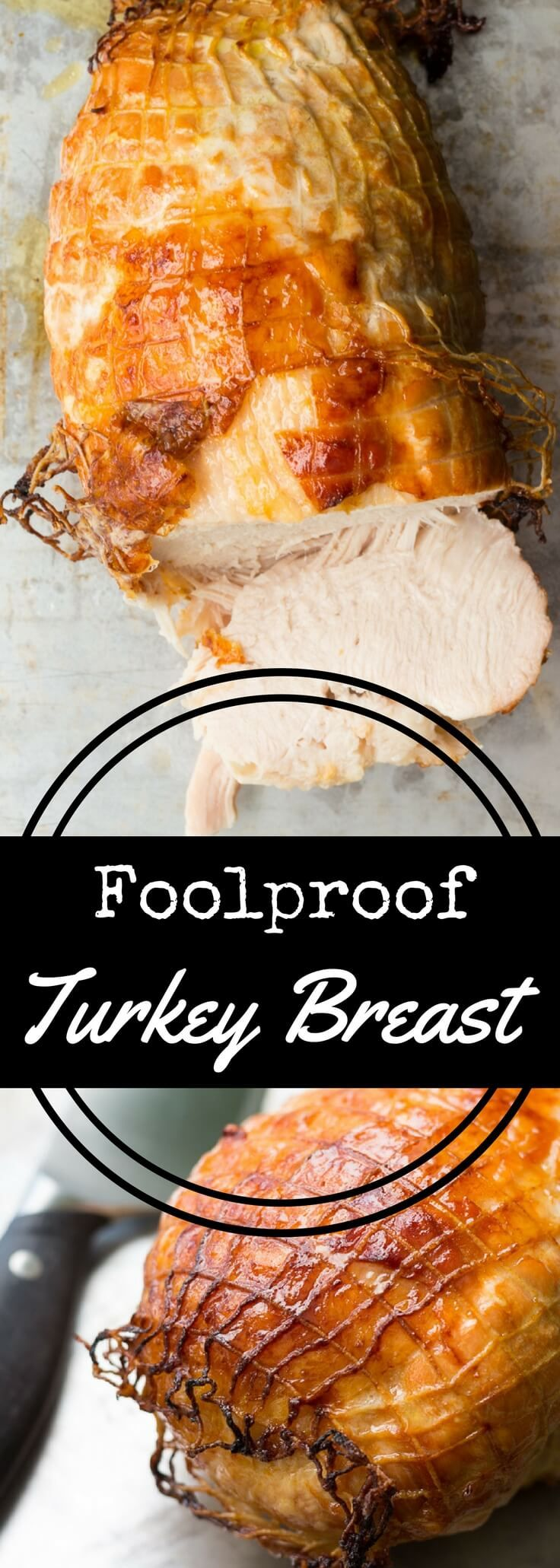 Roast a boneless turkey breast with this boneless turkey breast recipe, flavored with a deliciously savory marinade. Perfect for Thanksgiving! via @recipeforperfec
