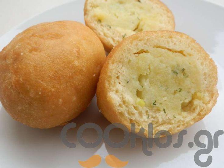 Πιροσκί με πατάτα! at cooklos.gr