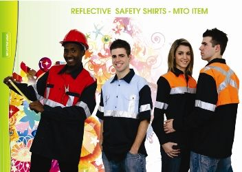 Reflective Saftey Shirts Models1