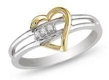 Fede nuziale con diamante