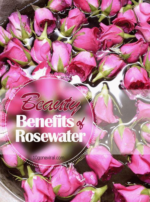 Beauty Benefits of Rosewater - Find out why Persians have been using it since 800 BC