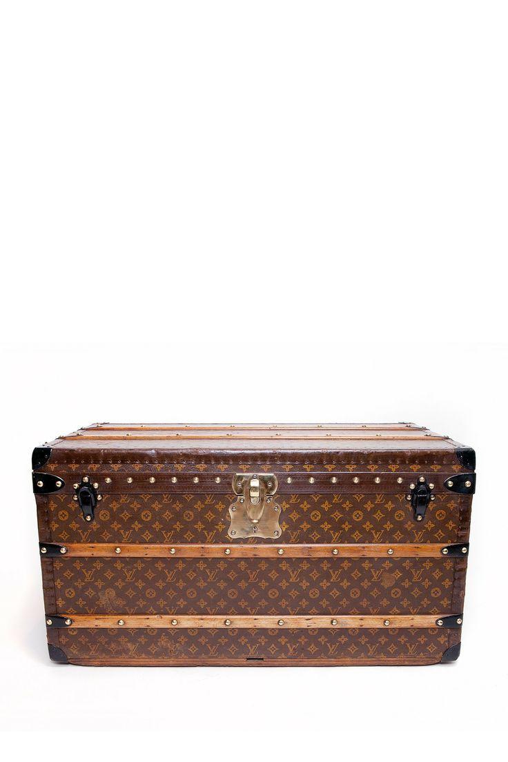 Vintage Louis Vuitton Monogram Print Trunk | See more about louis vuitton monogram, trunks and louis vuitton.