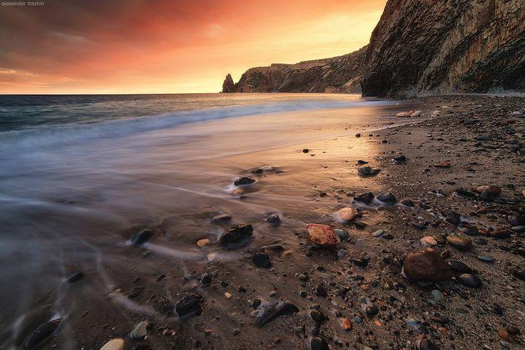 Мыс Фиолент, Яшмовый пляж, Крым.
