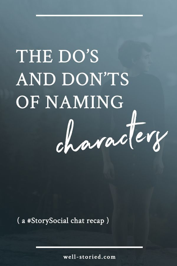 Not sure how to pick the perfect names for your characters? Check out tips + tricks from dozens of writers in this #StorySocial chat recap!