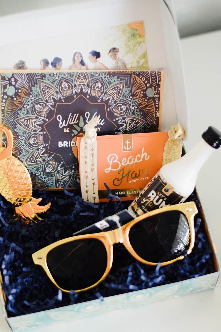 Cutest Bridesmaid Proposal Gift Boxes - Mailbox Melodies -- Wedding Blog - The O...