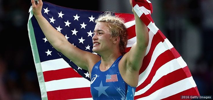 Helen Maroulis Wins Team USA's Historic First Women's Wrestling Olympic Gold…