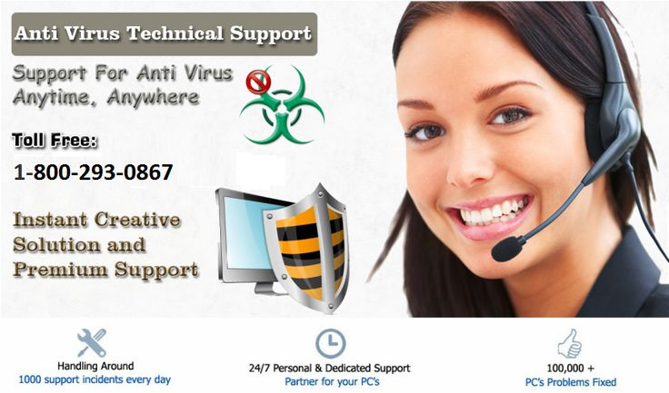 1-800-293-0867 Antivirus Support Phone Number  Antivirus software simply response to any Device to work smoothly. Our antivirus support phone number on toll free 1-800-293-0867 is open freely to provide the best assured solutions for any user at low cost.