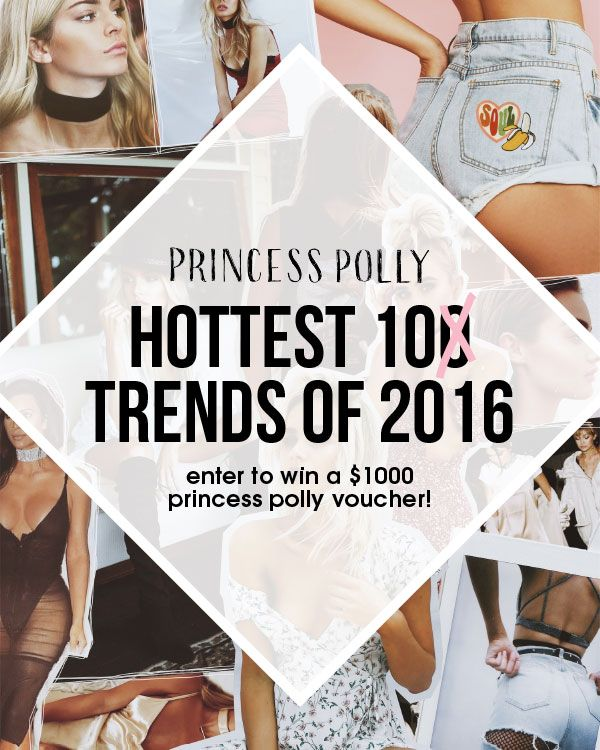 Hottest trends of 2016