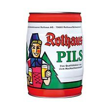 2 x Rothaus Pils 5 L Partyfass 5,1% vol. 2,95€/l