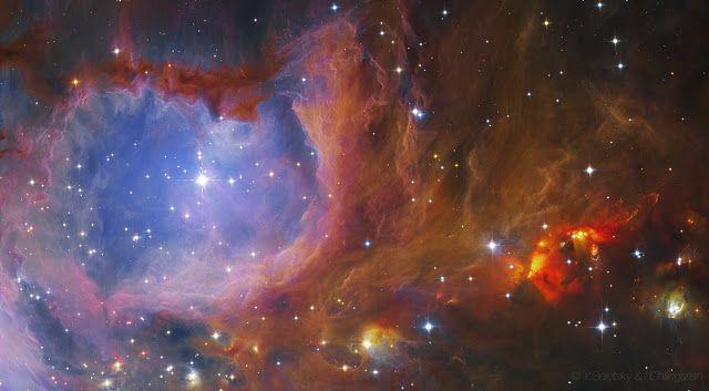Linha D'Água Imagens Astronômicas: Regiões de Formação de Estrelas na Via Láctea