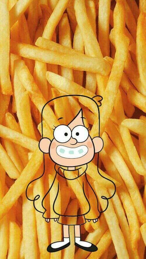 Mabel y papas♡