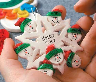 Weihnachtsschmuck zum Malen und Malen aus Mehl und Salz | Faden: Basteln für Kinder zum Machen & Geben