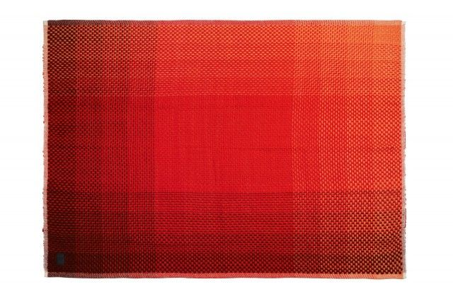"Gradient red, plaid by Simon Key Bertman Textile Design #nordicdesigncollective #simonkeybertmantextiledesign #gradientred ""#levels #plaid #textile #design #shades #interior #fitsanyroom"