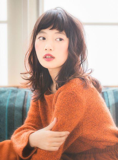 オシャレセミディー☆ 【aRietta】http://beautynavi.woman.excite.co.jp/salon/27794?pint ≪ #mediumhair #mediumstyle #mediumhairstyle #hairstyle・ミディアム・ヘアスタイル・髪形・髪型≫
