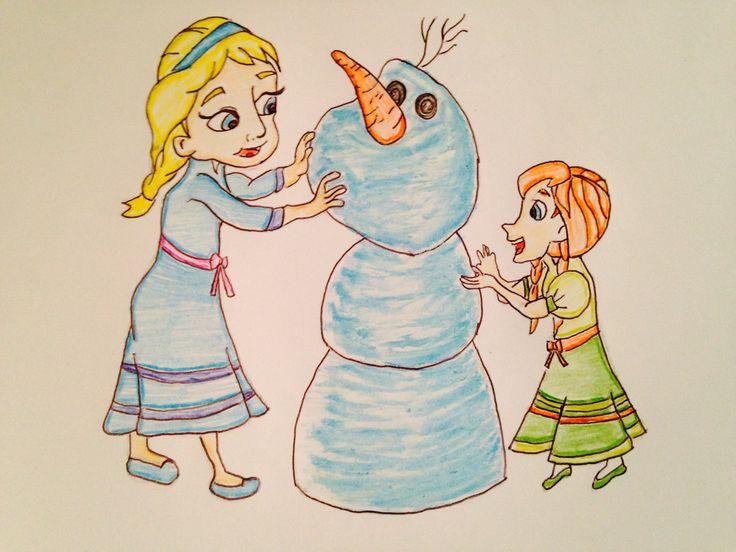 Anna And Elsa By Shane K
