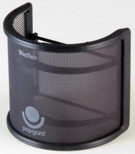 WindTech PopGard 2000 http://ehomerecordingstudio.com/vocal-recording-pop-filter/