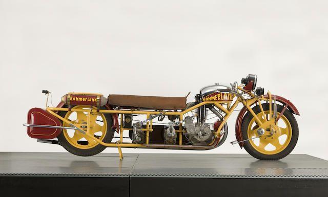 1937 Böhmerland 603cc Langtouren Engine no. 307