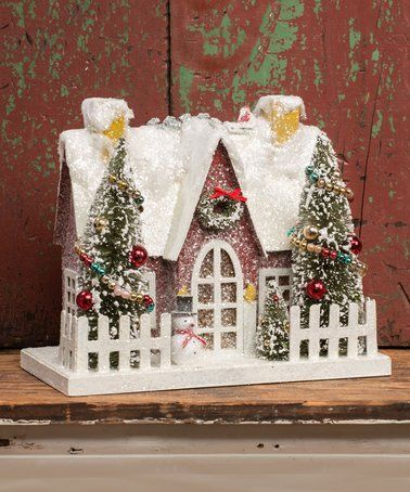 Loving this Red Vintage House Décor on #zulily! #zulilyfinds