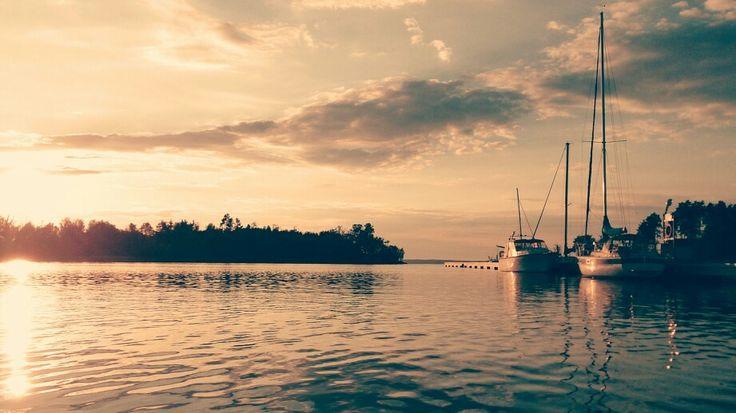 Finland bay of Baltic sea