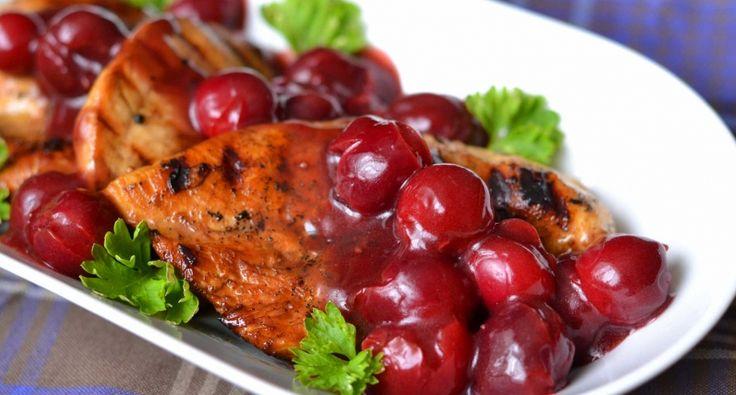 Meggyszószos csirkemell recept | APRÓSÉF.HU - receptek képekkel